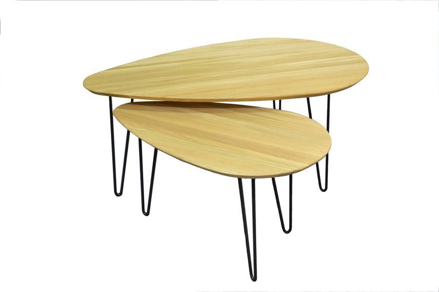 Konferenčný stolík elipse
